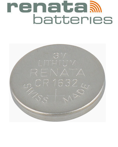 Renata Lithium Coin Size Cell Battery for Clock CR 2450 N, Voltage: 3 V