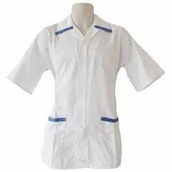 White Pure Cotton Hospital Uniforms