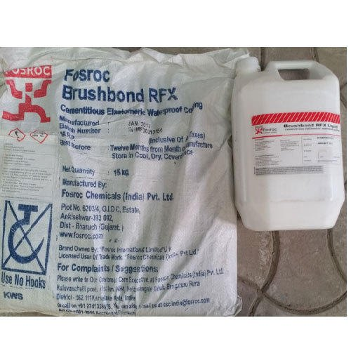 Brushbond RFX Elastomeric Cementitious Waterproof Coating