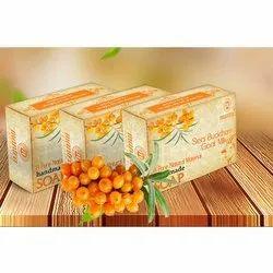 Mantra Glycerine Seabuckthorn Handmade Soap, for Bathing, Packaging Type: 100g