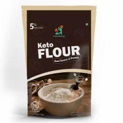 Fssai Gmp Haccp Vegetarian Keto Flour (1Kg) Best Low Carb Gluten Free Flour Leanbeing Keto Flour