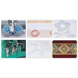 Multi Head Hot Fix Stone Embroidery Machine