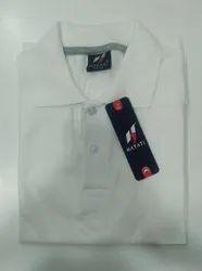 Men's Plain Corporate Collar T-Shirt