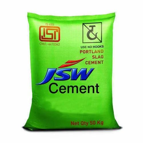 JSW Cement, Cement Grade: Grade 43, Packaging Type: PP Sack Bag