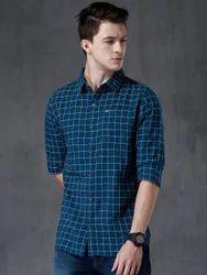 Checkered Men's Casual Shirt