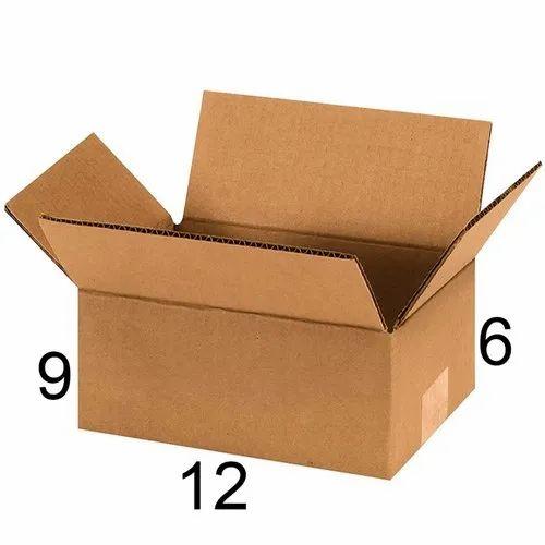 55fc467d6b0 Rectangle 12 X 9 X 6 Inch Corrugated Box