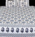 Fancy Printed King Size Bedsheet