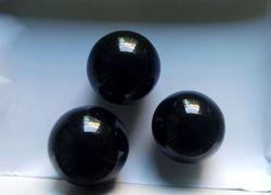 Black Agate Spheres