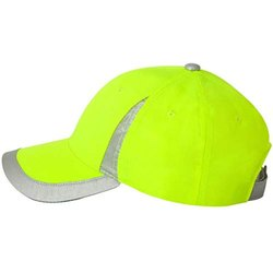 Cotton Reflective Safety Cap, Packaging Type: Packet