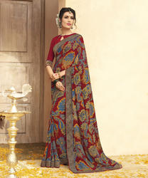 PR Fashion New Printed Sarees