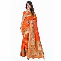1499 Designer Handloom Cotton Silk Saree
