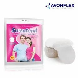Plastic Laminated Sweat Pads Packaging Pouch