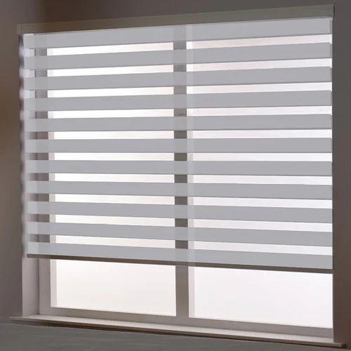 Pvc Window Zebra Blinds Rs 100 Square Feet Sidh