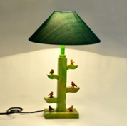 Lamp Tree Style With Parrot