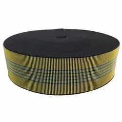 Yellow Polyester 3 INCH Elastic Belt, For SOFA ACCESSORIES