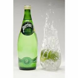 Glass Perrier Sparkling Water, Packaging Size: 750ml, Packaging Type: Bottles
