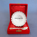 Wedding Favors Diwali Gifts Silver Plated Brass Bowl Set