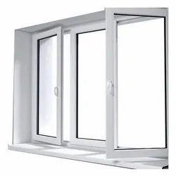 Powder Coated Rectangular Aluminium Hinged Window