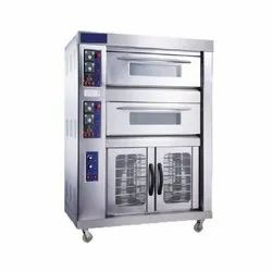 Double Deck Electric Oven with Proofer
