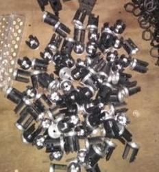 Stainless Steel PVC And Rubber Plastic Moulded Component