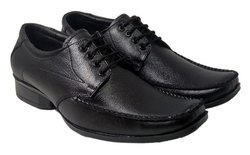 Kovvoc Black Leather Shoe