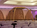 Grand Wood Wedding Mandap, Size: Diameter 14.1feet
