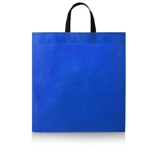 Blue Loop Handle Carry Bag
