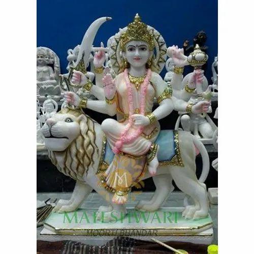 Makrana Marble Durga Maa Murti