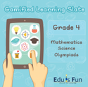 Class 4 Mathematics, Science And Olympiads - Gamified Learning Slate