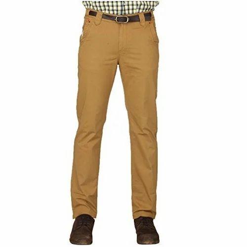 af692e70ef186 Brown Men  s Cotton Jeans