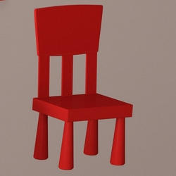 L Kids Chair