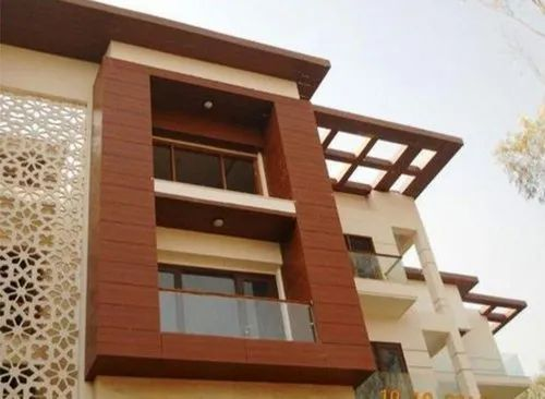 Wood Brown Exterior Wall Cladding Rs 350 Square Feet Dj