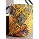 banjara leather embroidery shoulder bag