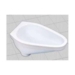 Tarryware White Sanitary Rural Pan, For Bathroom Fitting, Packaging Type: Carton Box