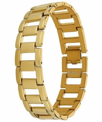 Fas Premium High Durable Gold Looser Bracelet For Men And Women-LBZM1