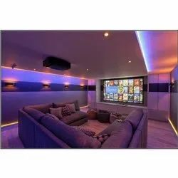 Home Theater Designing Service, Work Provided: Wood Work & Furniture