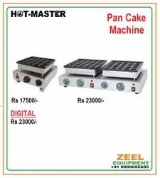 Stainless Steel Electric Pan Cake Machine, For Bakery, Capacity: 1