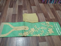 Cotton Embroidered Chudidhar Materials