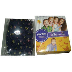 Blue And Also Available In All Colors Cotton Kids Printed Bloomer, Size: Small, Medium, Large, XL