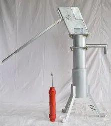Ind Tech 1.2 M India Mark II Deep Well Hand Pump, 900 LPH