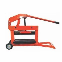 Orange Paver Brick Cutting Machine