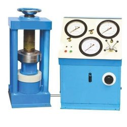 Compression Testing Machine (Four Pillar Nut Model) Hand Cum Electrical Operated