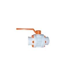 PP Ball Valve Thread End