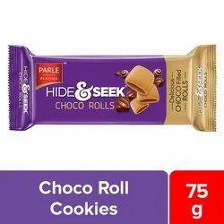 Chocolate Parle Hide And Seek Choco Rolls, Packaging Type: Packet, 75 Gm