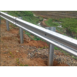 Single Sided MS Crash Barrier