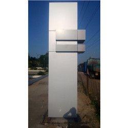 Road Pillar ACP Panel Cladding Work