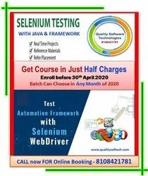 Depend On Hrs Of Per Day Selenium Training Service, in Delhi