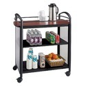 Wooden Food and Beverage Trolley