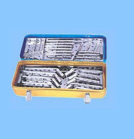 Hip Barrel Plate Implants Set