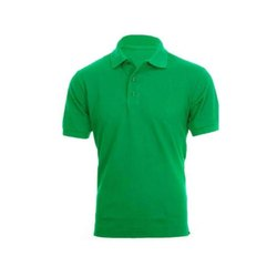Plain Polyester Mens Polo T Shirt